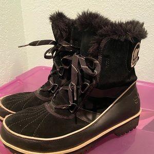 SOREL Tivoli black boots